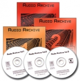 3 CD Bundle Audio Archive Vol. 1-3