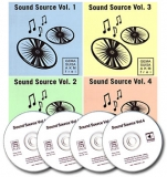 4 CD Bundle Sound Source Vol. 1-4