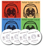 4 CD Bundle Total Tunes Vol. 1-4
