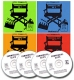 4 CD Bundle Commercial Clips 1-4