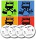 4 CD Bundle Commercial Clips 1-4